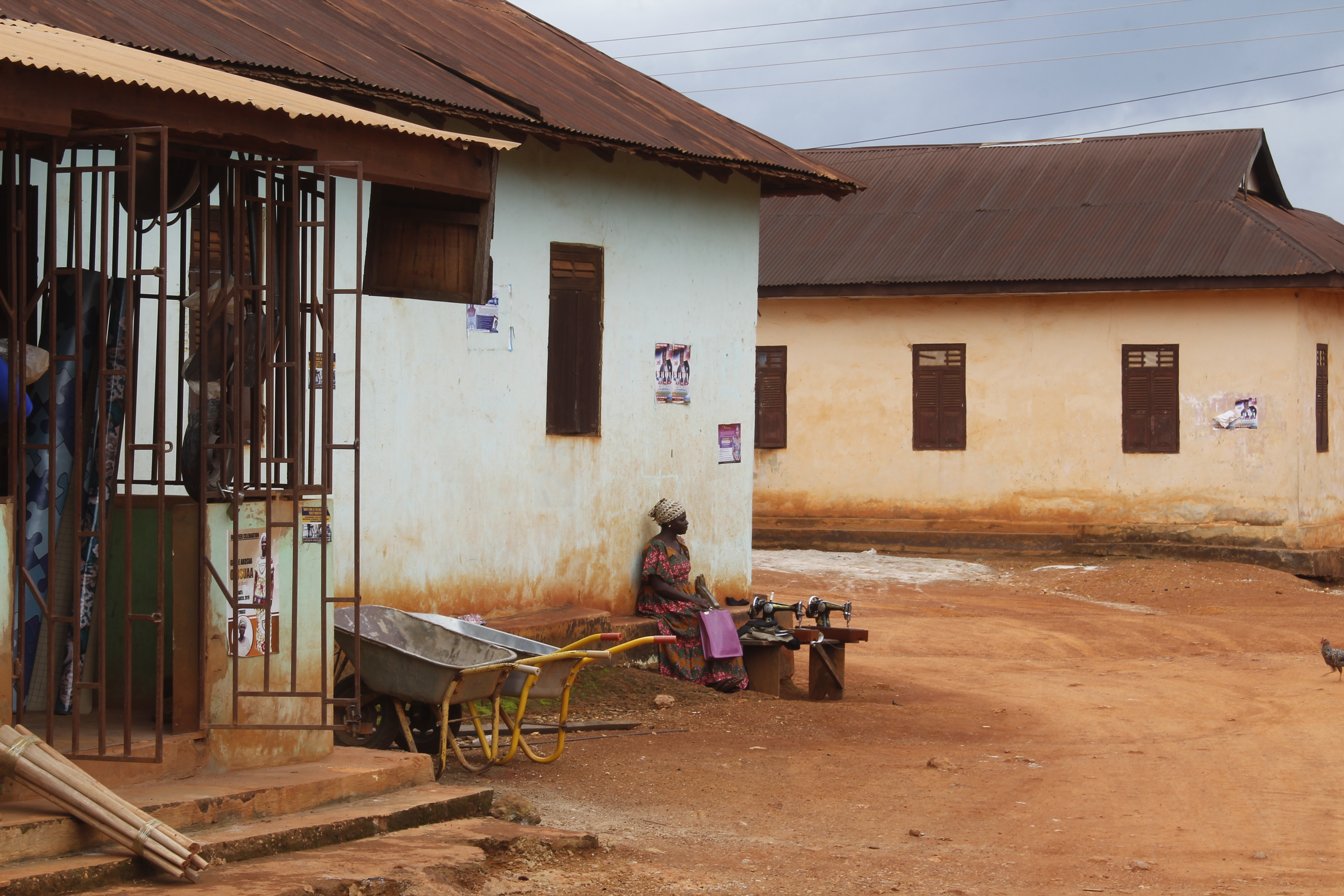 Communities around Ghana's Atewa forest reserve in Sagymase, Eastern Region, Ghana, have been affected by a ban on small-scale mining, which employs more than 1 million people and accounts for around 30 percent of the country's mineral output.