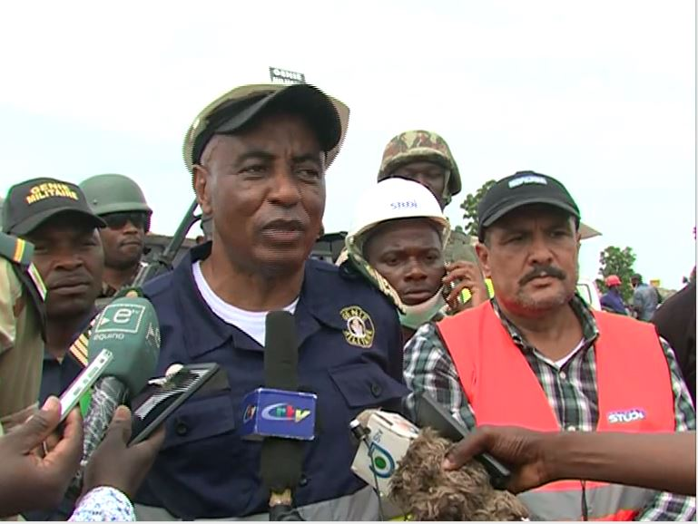 Colonel Jackson Kamgain, director of Cameroon military engineering corps, Dabanga, Cameroon, May 17, 2019.