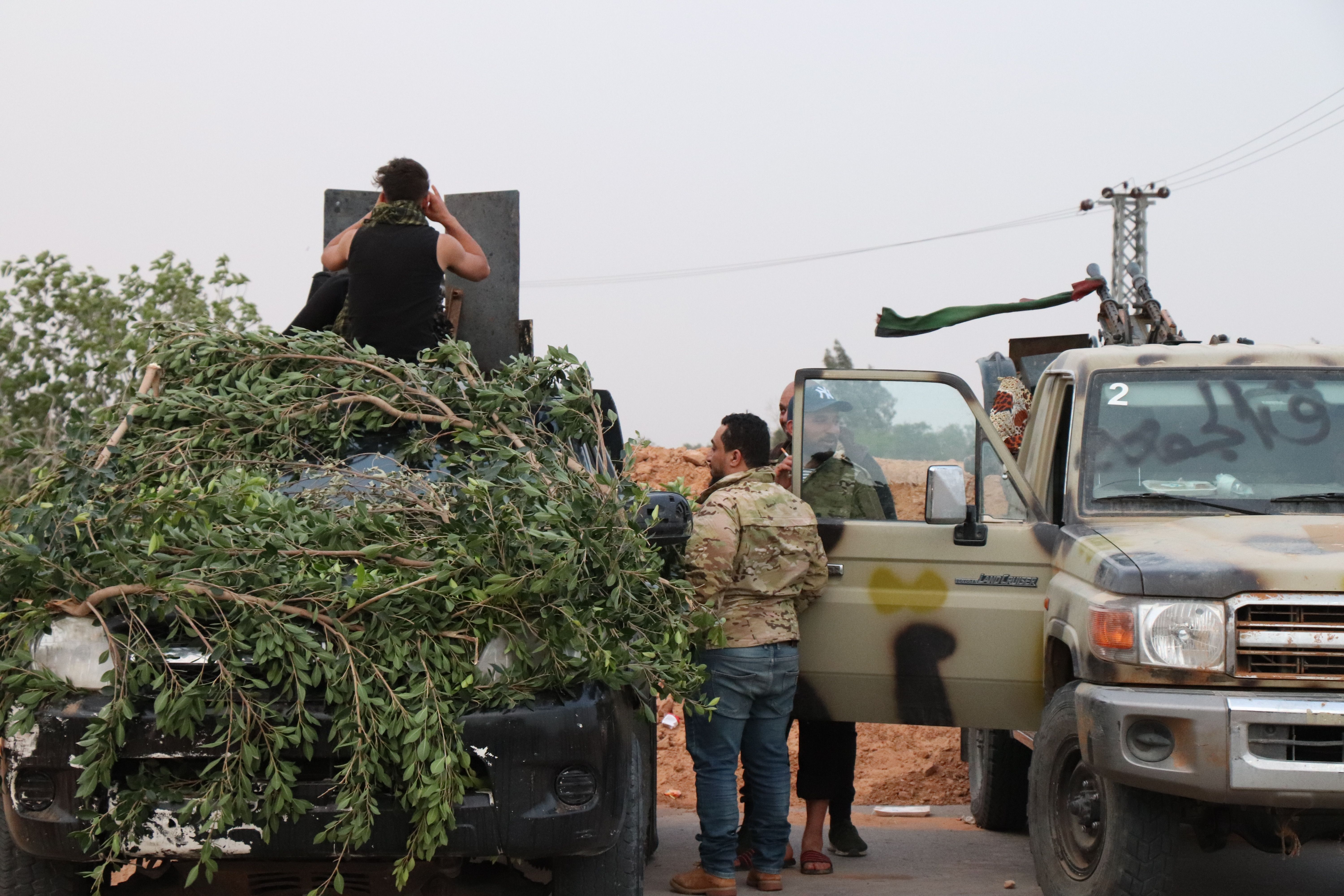 Since early April, forces based in eastern Libya have been battling the forces of the country's western capital, Tripoli. (H.Murdock/VOA)