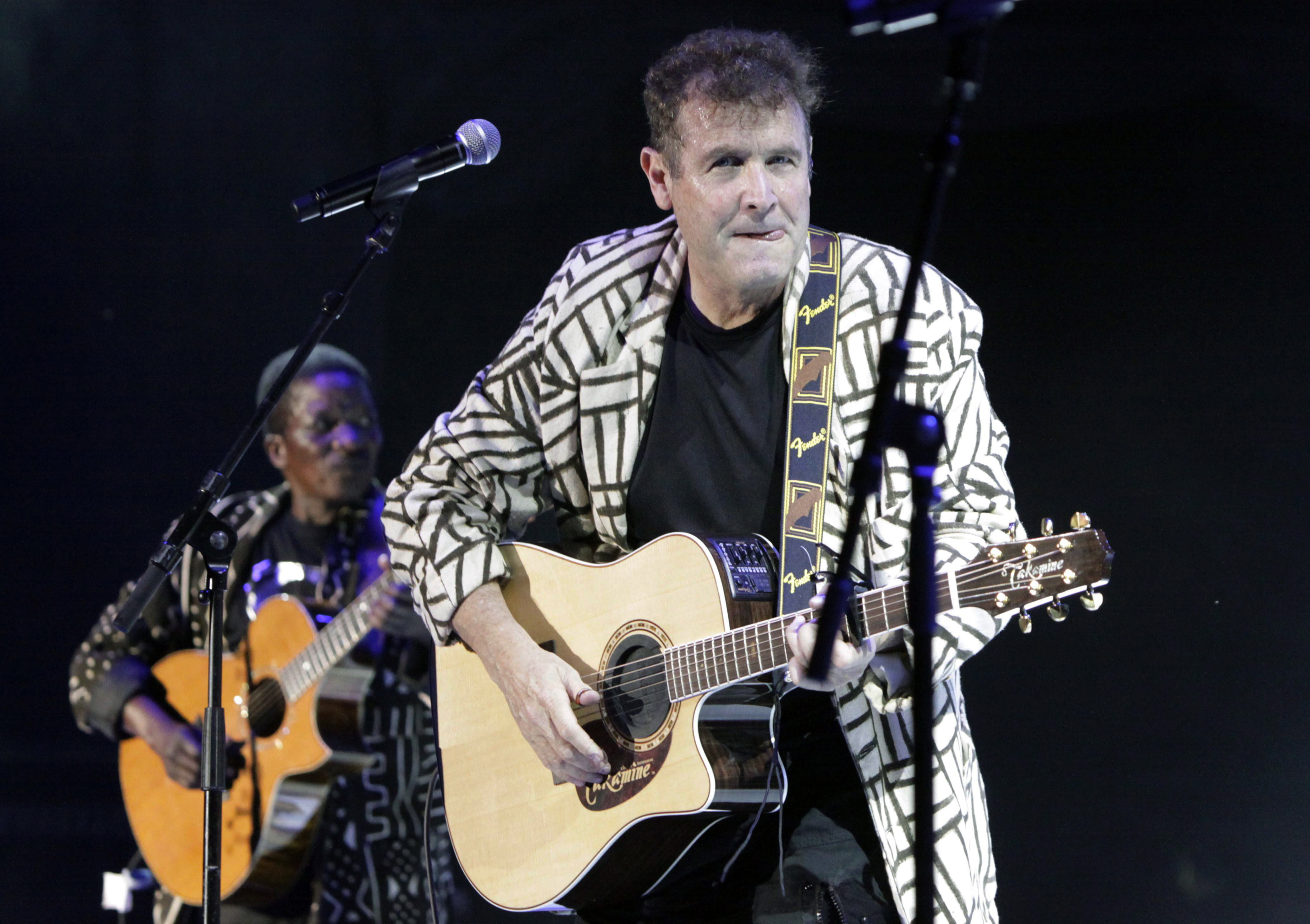 South Africa Mourns 'White Zulu' Johnny Clegg   Voice of