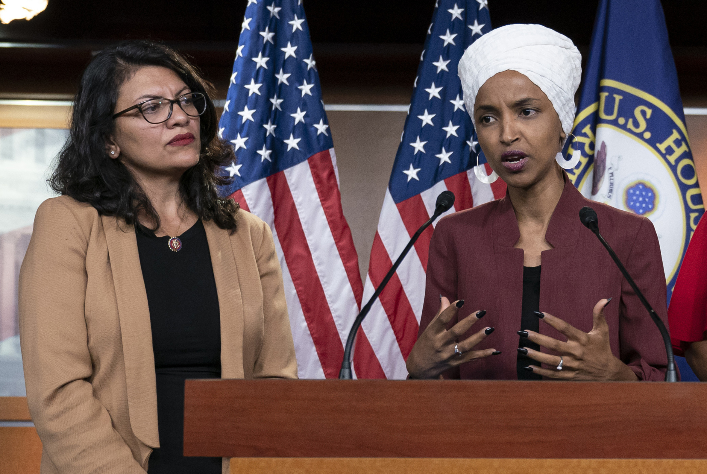 Omar Rejects Netanyahu's Claims About Itinerary