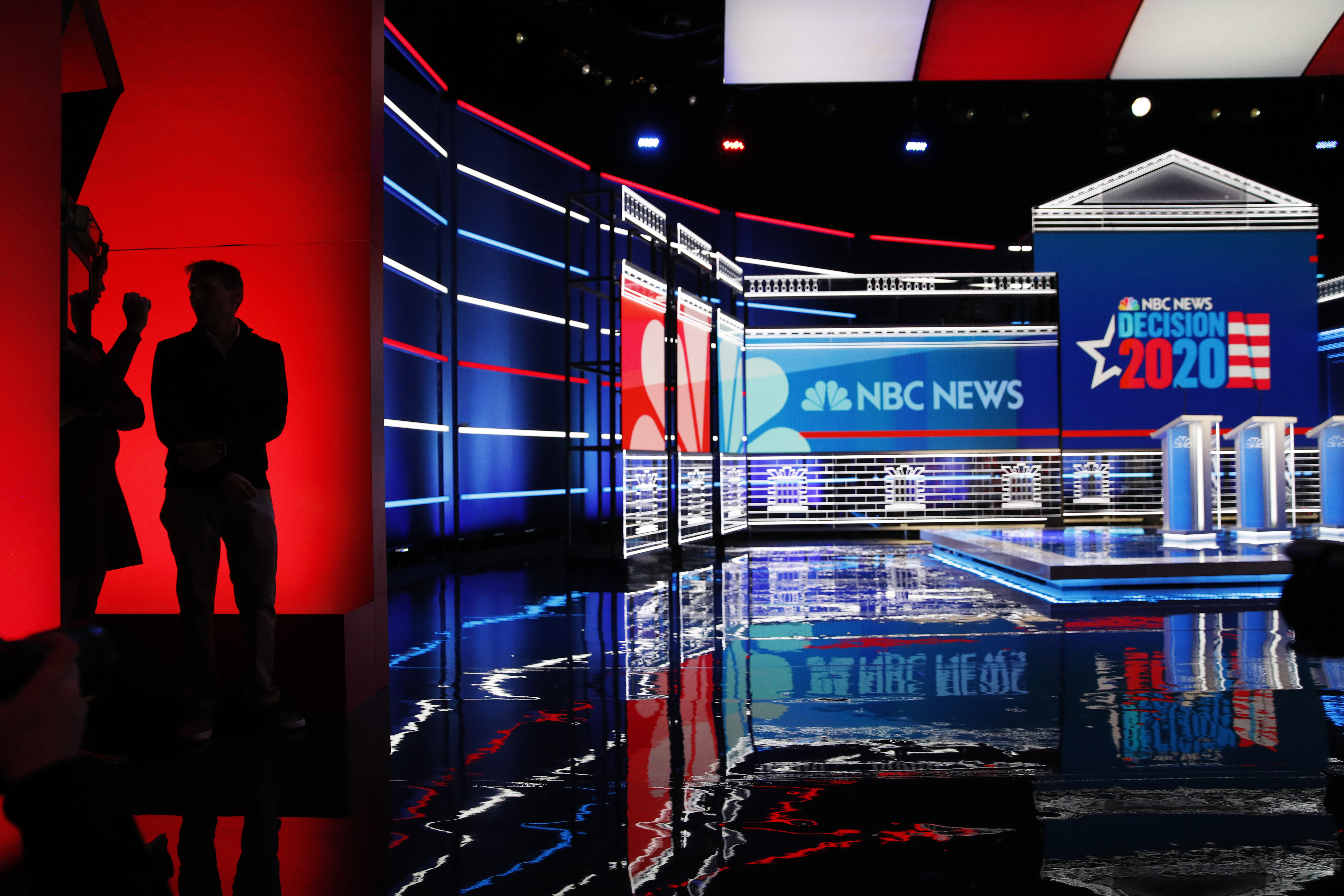 Democrats Set for Debate as Nomination Race Moves...