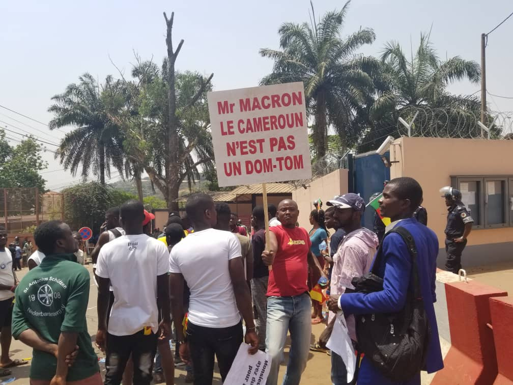 Cameroon Protests French President's Criticism of Anglophone Rights Abuses
