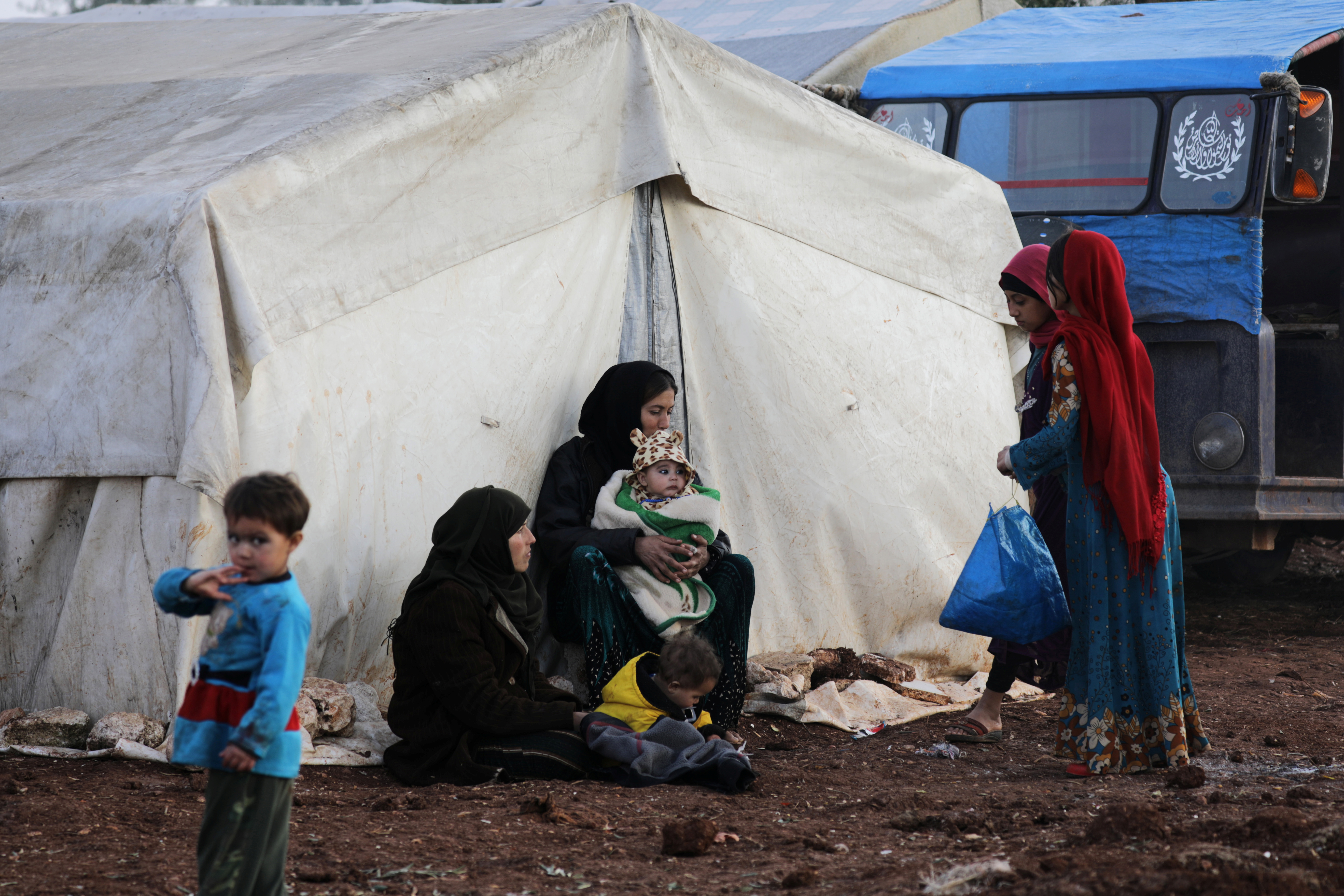 UN Fears Fighting Will Follow Fleeing Syrians