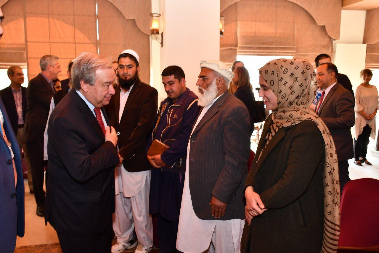 Image result for UN Chief Hails Pakistan for Being World's Second Largest Host of Refugees