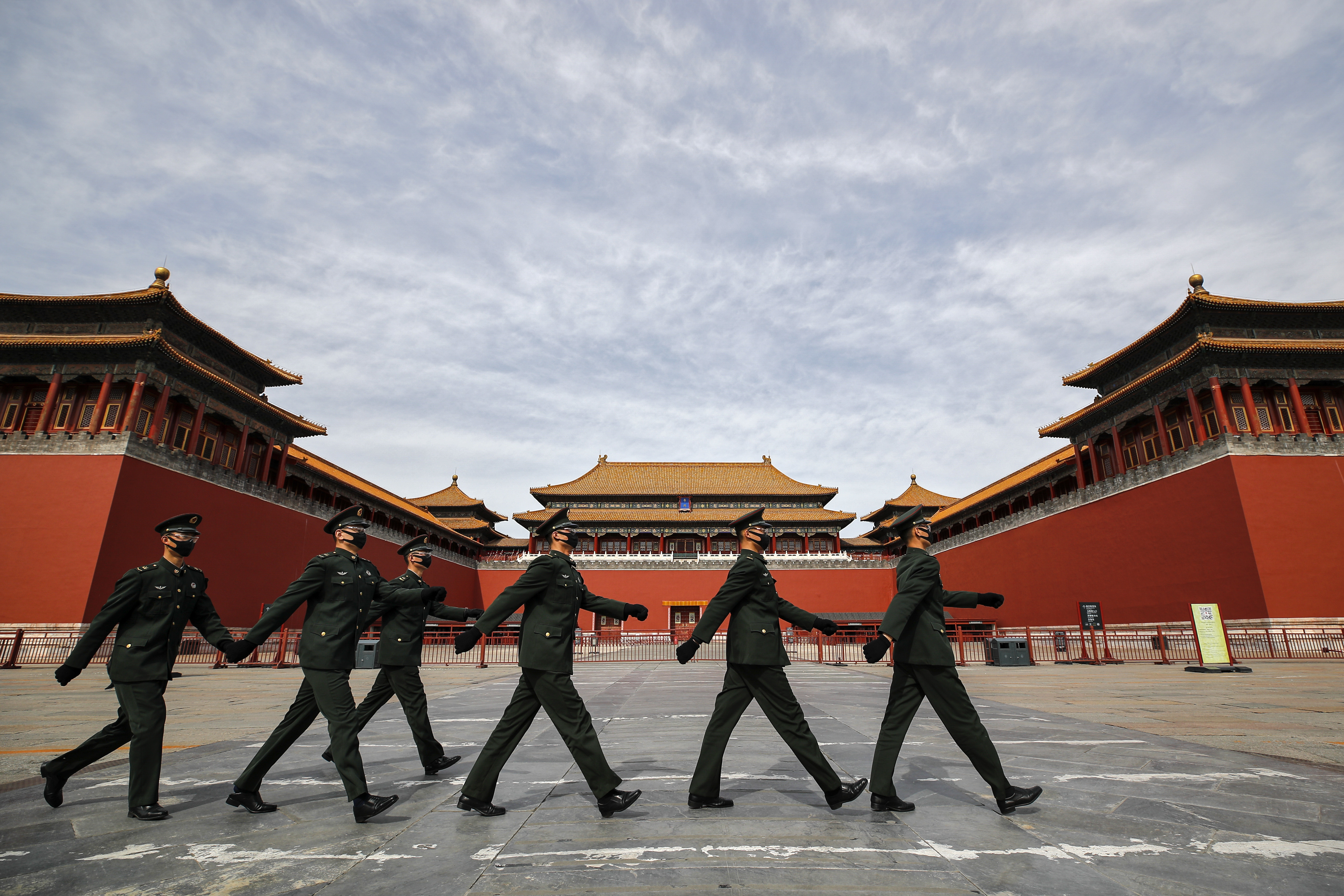 China Claims Zero Infections in Its Military