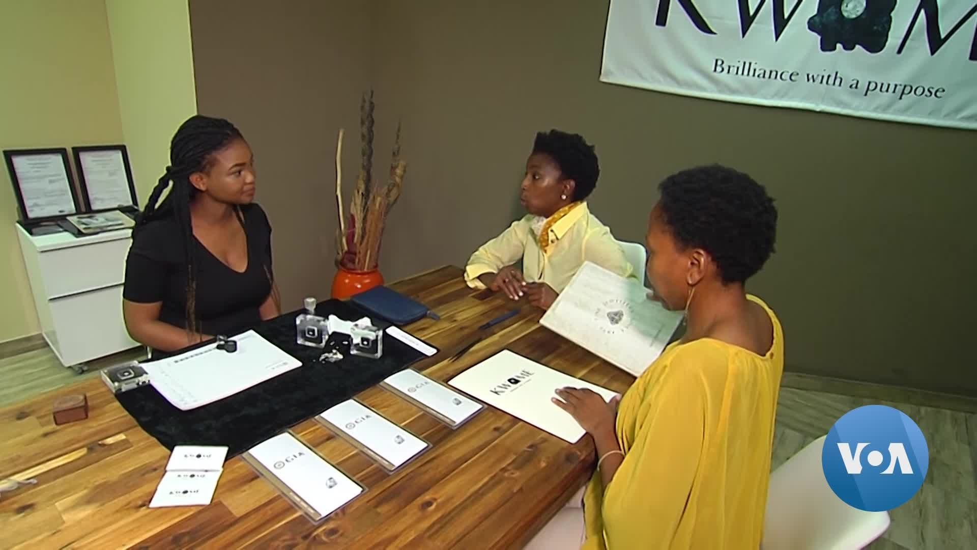South African Sisters Shine in Diamond Business Dominated by Men