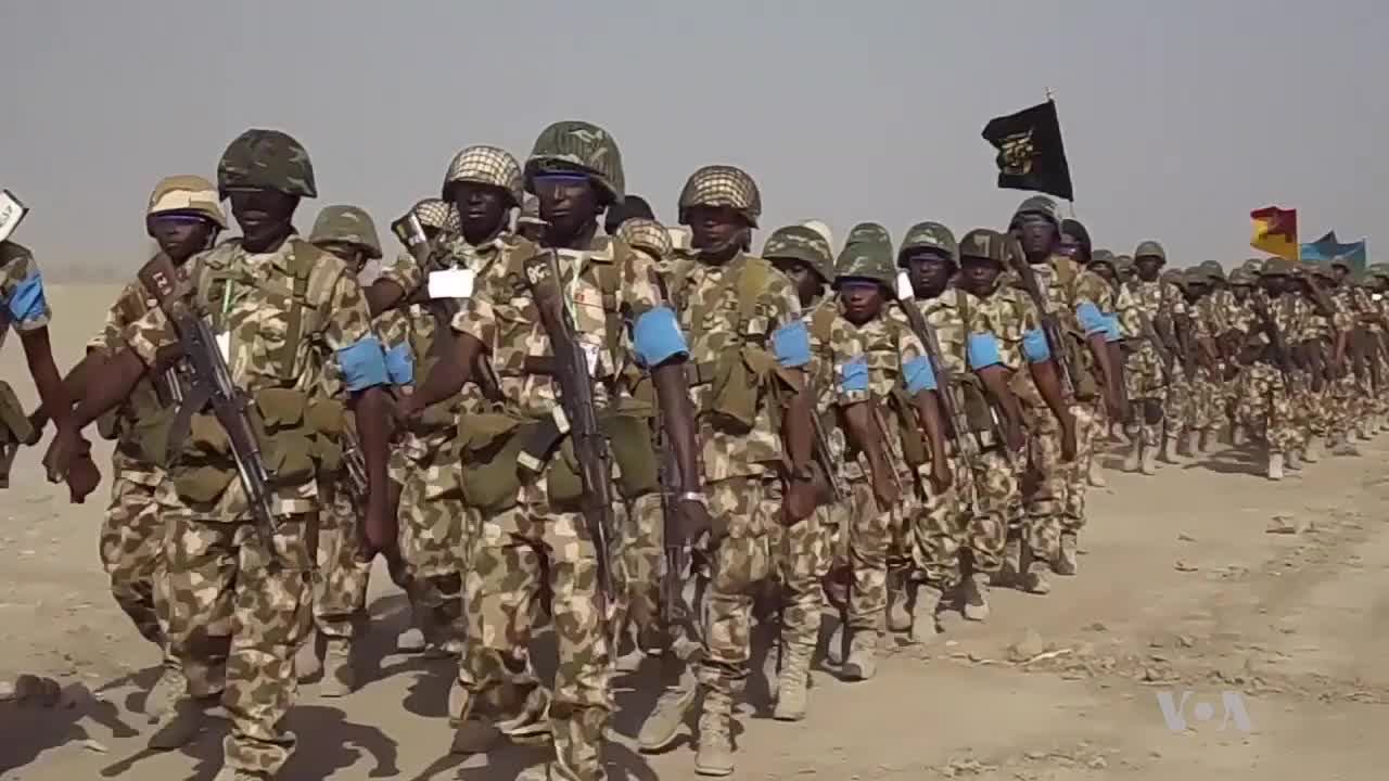 Nigerian Army Holds Drill in Sambisa Forest, Former Boko