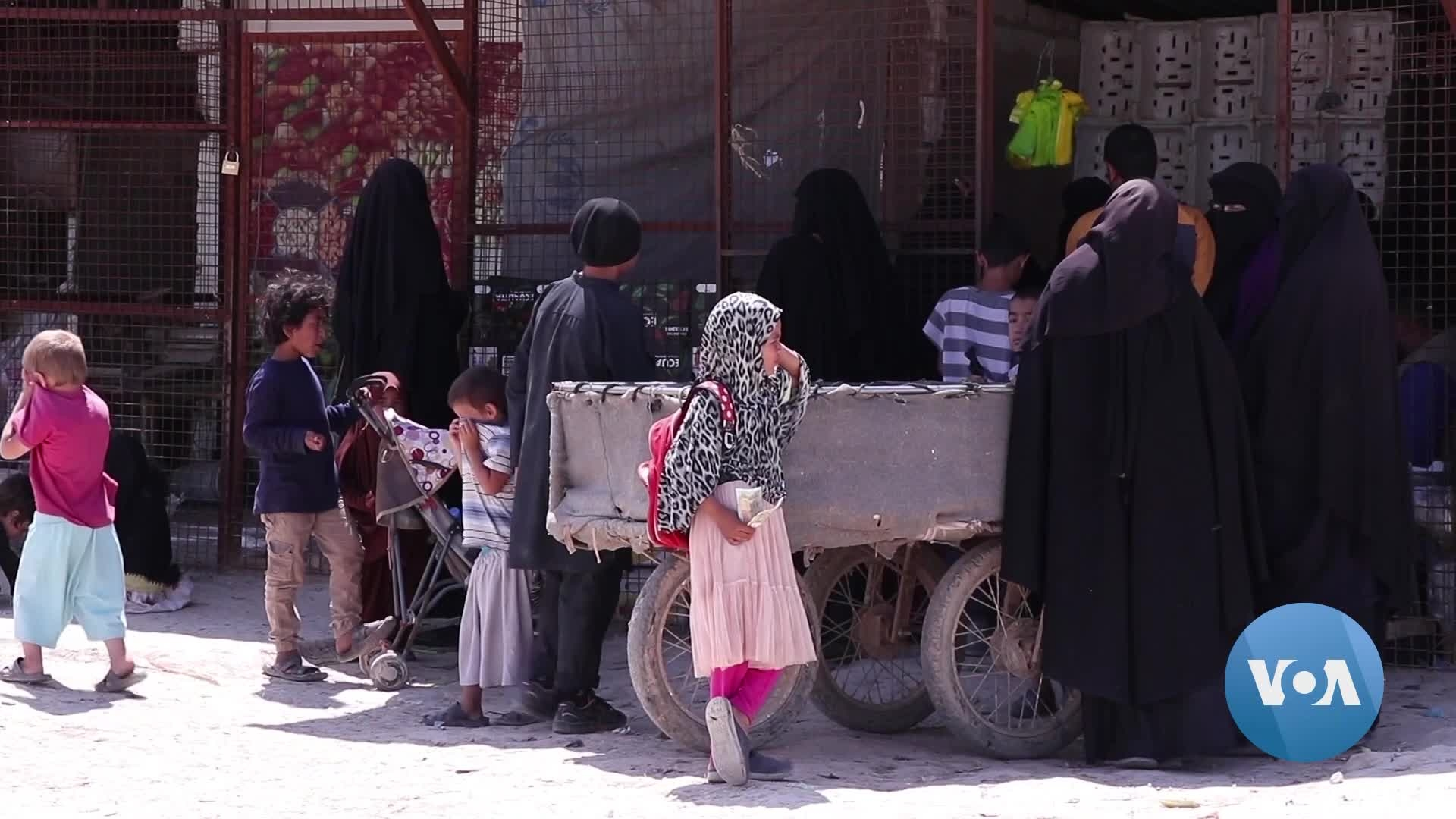 IS Wives Defy Coronavirus Protective Measures in Syria's al-Hol Camp
