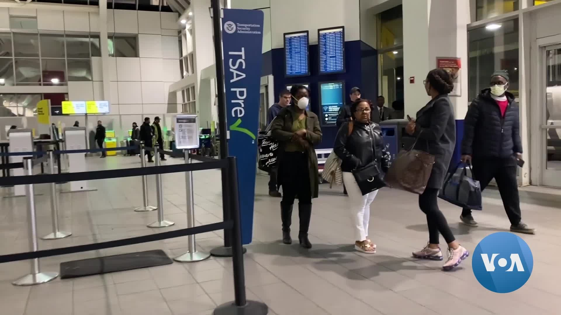 Coronavirus Forces US Airline Travelers to Take Precautions