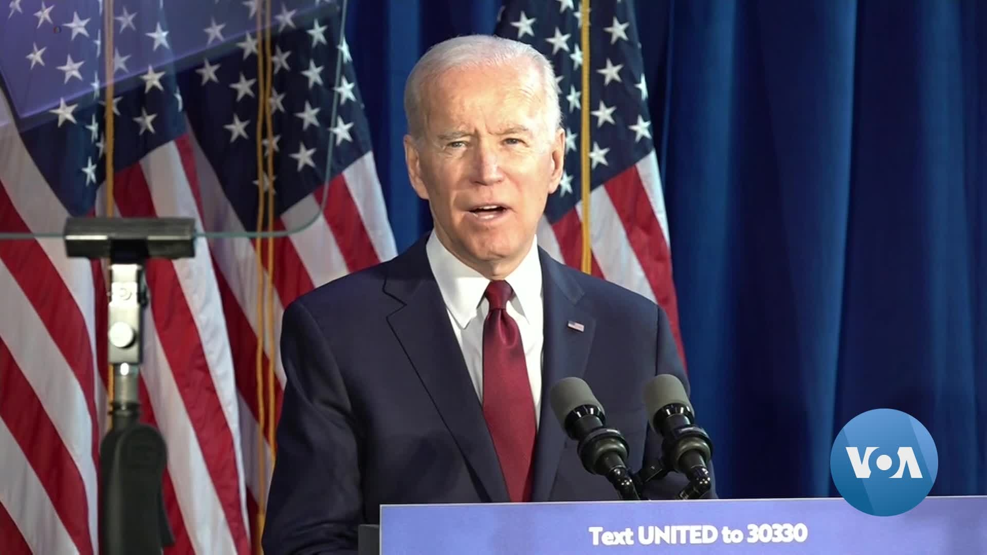 Biden Lashes Out at Trump as 'Dangerously Incompetent' Over Soleimani Killing