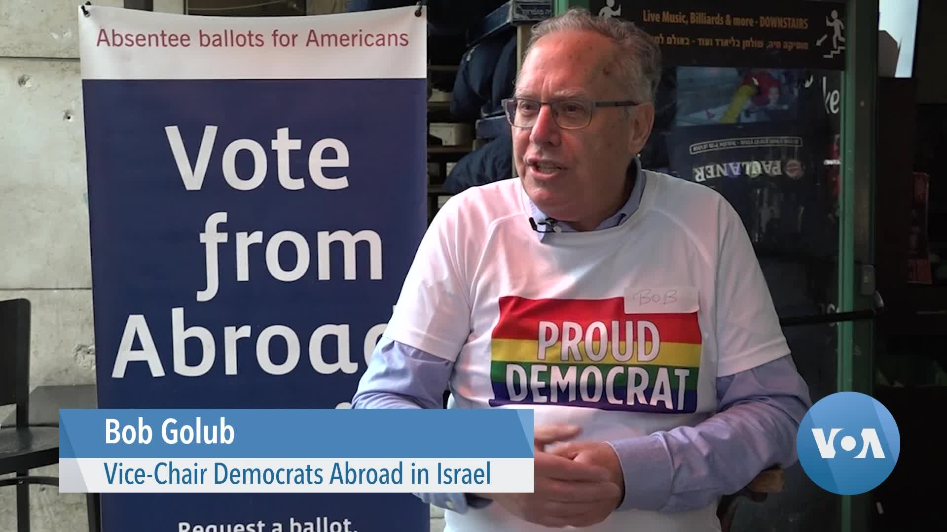 US Democratic Voters in Israel Worry About Decline in US Support