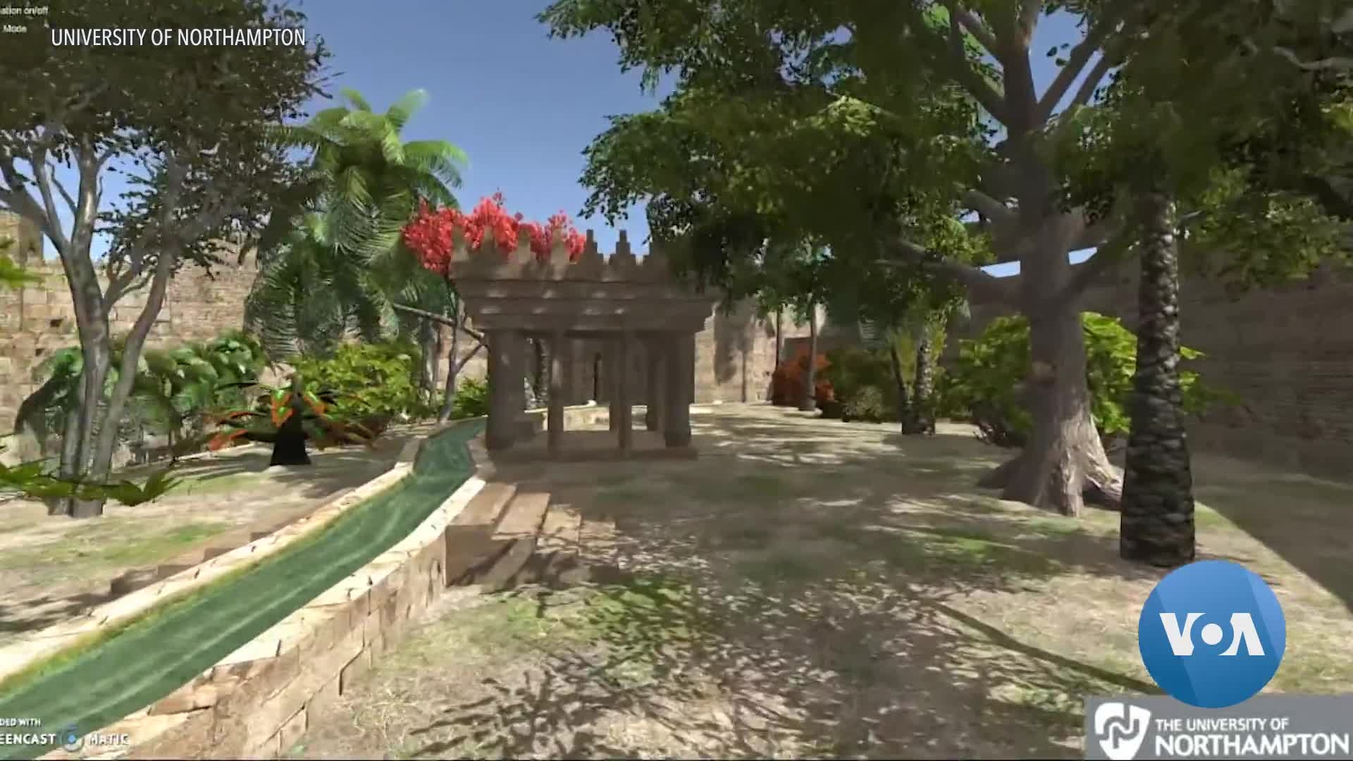 Hanging Gardens Of Babylon Recreated For The 21st Century Voice