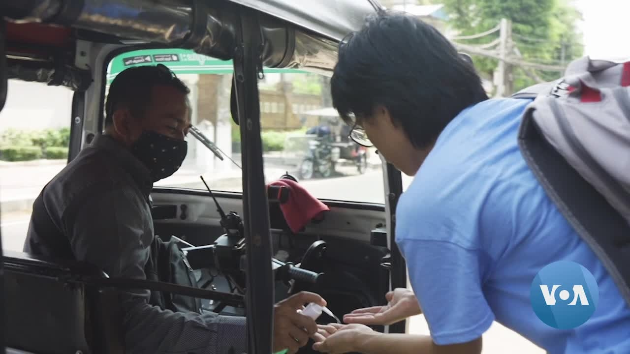 Cambodian Businesses Remain Open, Double Down on Protections Against Coronavirus