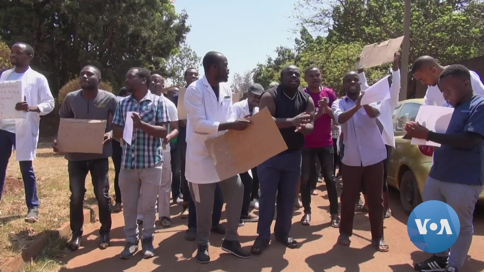 From Patients to Doctors, Fear Rules in Zimbabwe's Hospitals