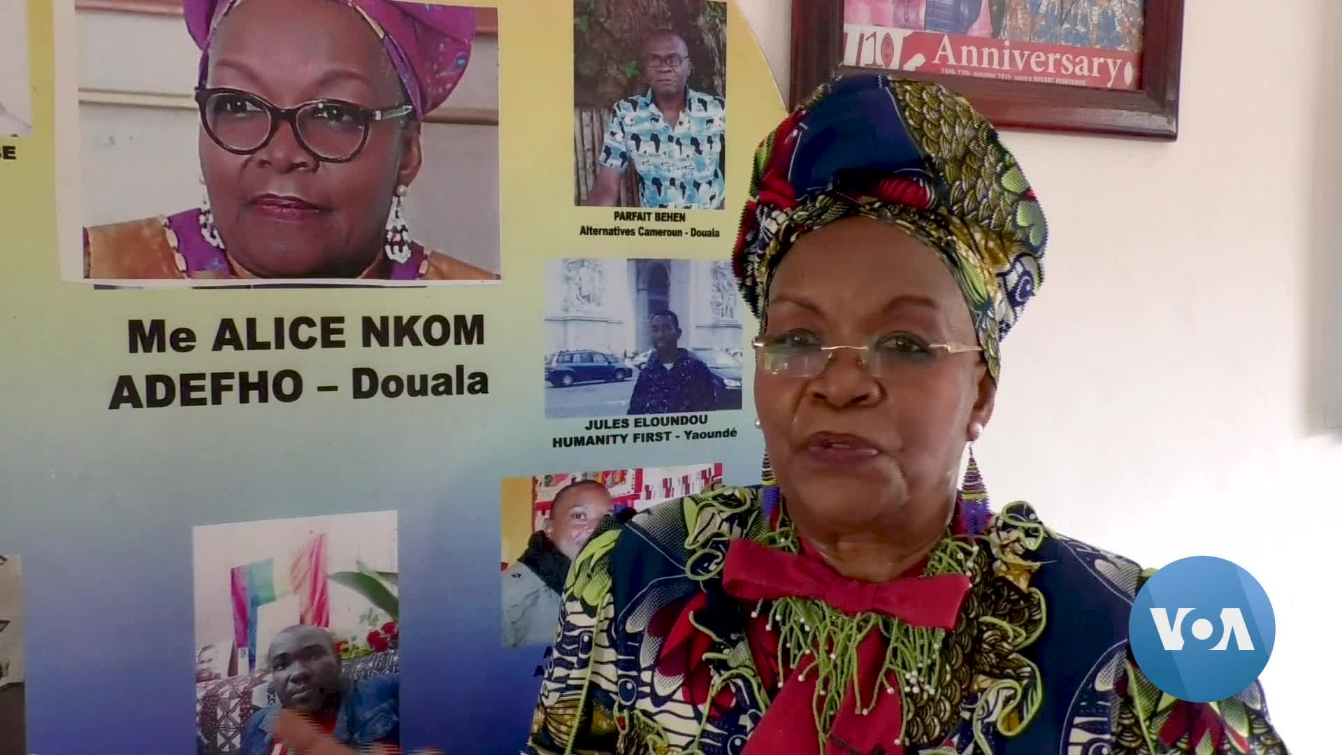 In Face of Threats, Lawyer Defends Gays in Cameroon