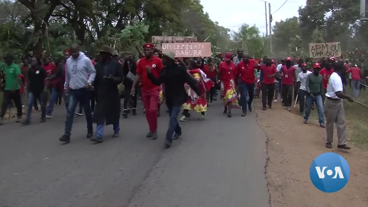 Malawi Opposition Supporters Clash with Police as Election Results Challenged