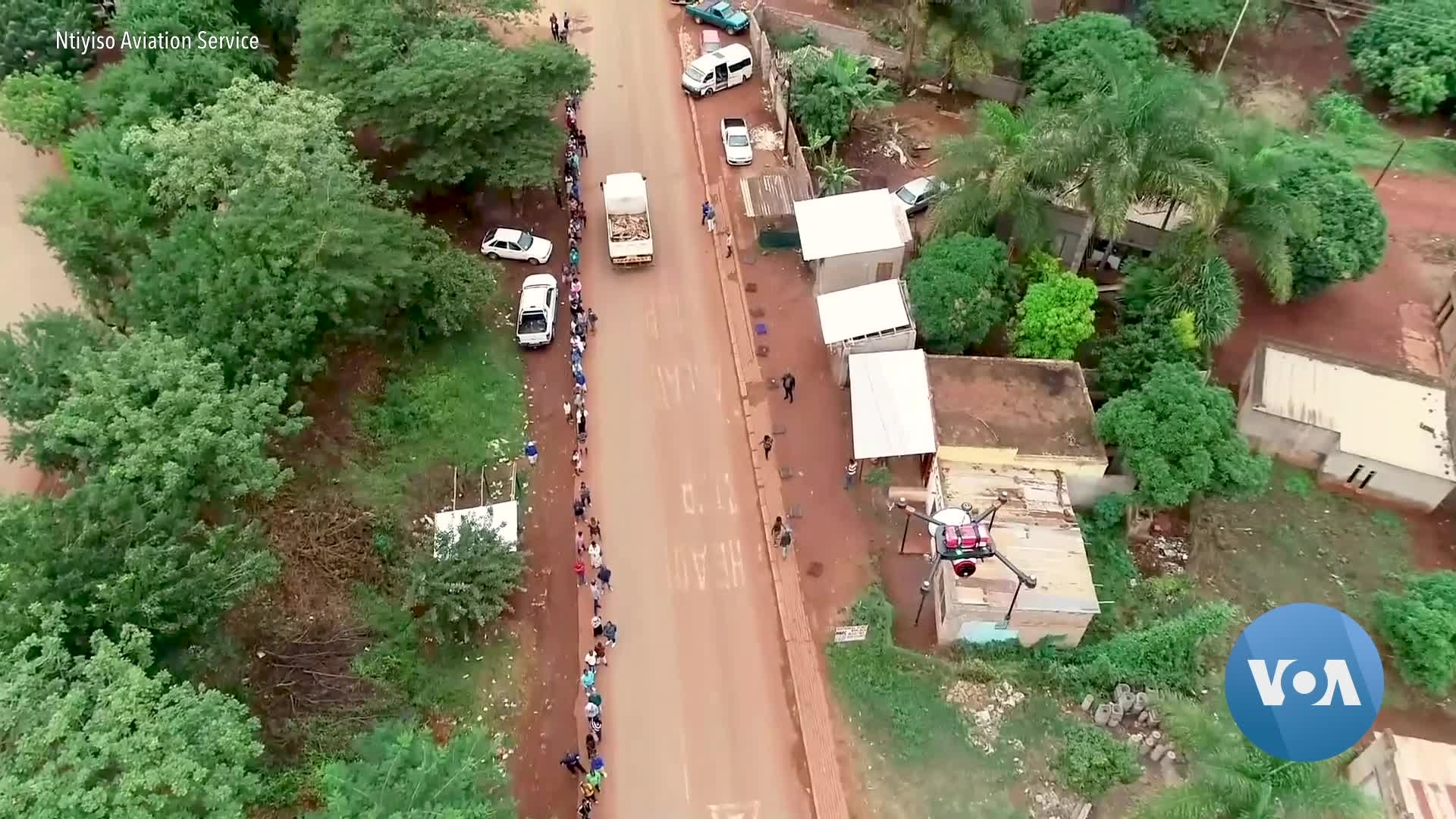 Drones Spread Word About COVID-19 in Rural South Africa