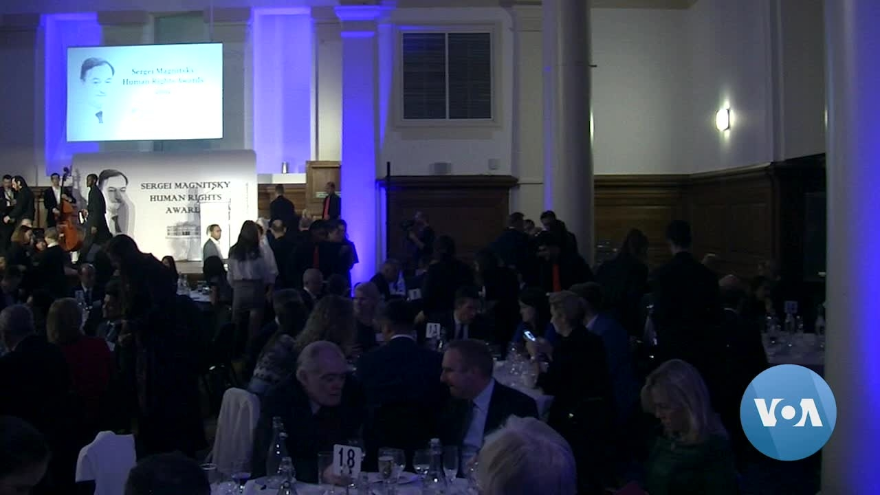 Press Freedom Under Spotlight at Magnitsky Human Rights Awards