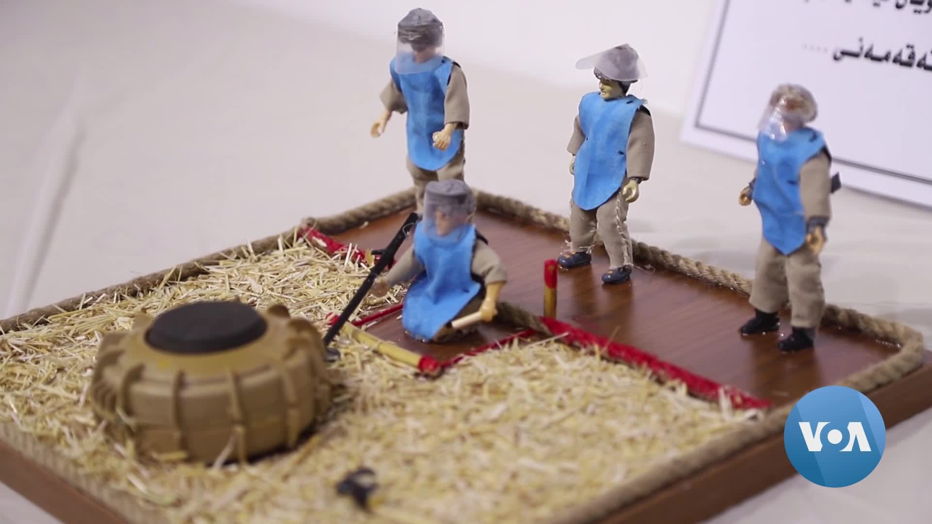 Art Exhibit in Iraq Showcases Landmines, Victims