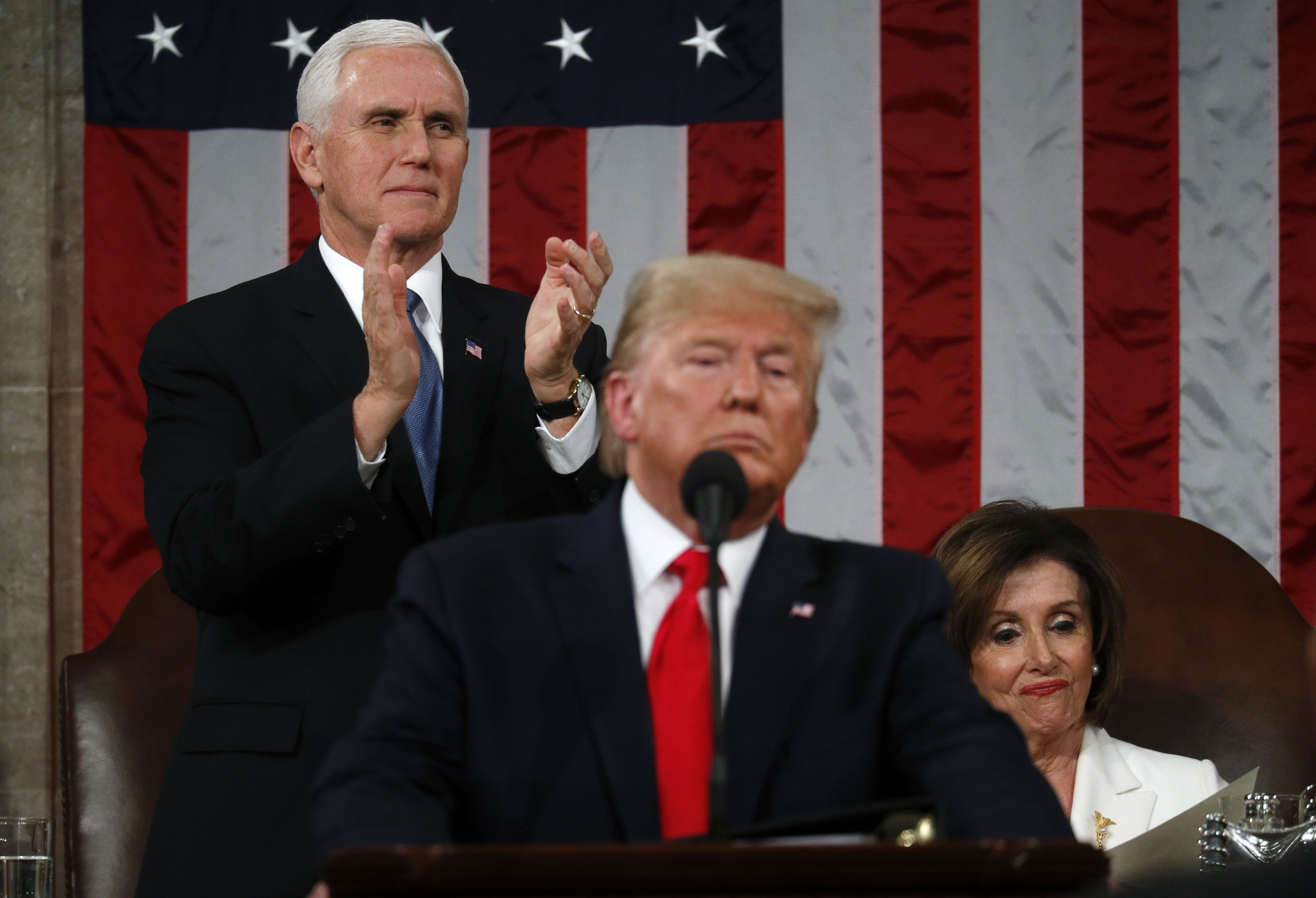 US Political Divide on Display During State of the Union Address