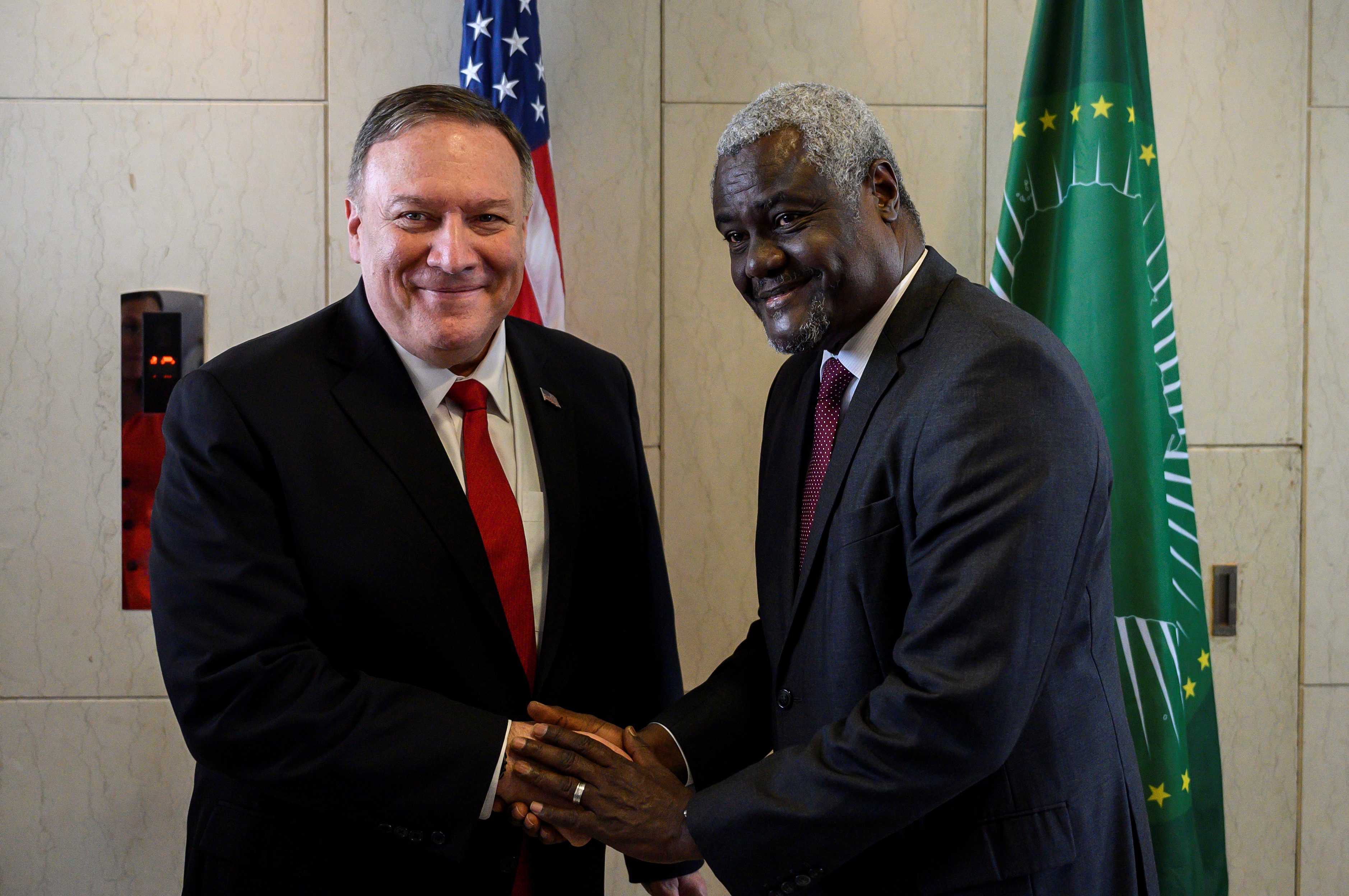 Pompeo Faces Uphill Battle to Win Over African Leaders