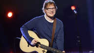 British singer Ed Sheeran performs during the Italian State RAI TV program in Milan, Italy.