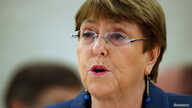 U.N. High Commissioner for Human Rights Michelle Bachelet attends a session at the United Nations in Geneva, Switzerland, Feb. 27, 2020.