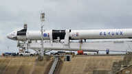 The SpaceX Falcon 9, with Dragon crew capsule is serviced on Launch Pad 39-A, Tuesday, May 26, 2020, at the Kennedy Space…