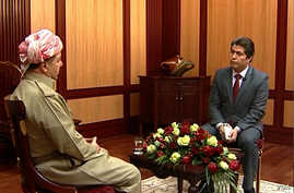 Kurdish President Massoud Barzani talks to Ali Javanmardi of VOA's Persian service, PNN in an exclusive interview.