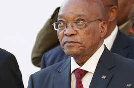 South Africa President's Scandal