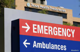 A general view of the Texas Health Presbyterian Hospital is seen in Dallas, Texas, Oct. 4, 2014.