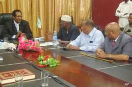 A meeting in Somaliland