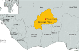 Map of Burkina Faso