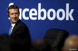 Facebook CEO Mark Zuckerberg on stage during a town hall at Facebook's headquarters in Menlo Park, California, February 27, 2015. Zuckerberg was one of the victims of the bug that emerged this week on the social networking site.