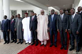 ECOWAS meeting in Abuja, Nigeria, September 22, 2015.