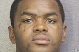 Photo provided by Broward Sheriff's Office shows Dedrick Devonshay Williams, arrested in the shooting death of rapper XXXTentacion. (Broward Sheriff's Office)