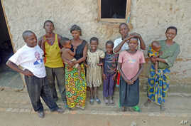 Villagers in Mutambara Peace Village, Burundi