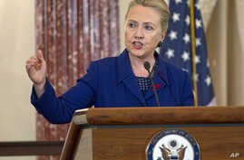 Secretary of State Hillary Rodham Clinton, Nov. 29, 2012, at the State Department in Washington.