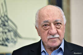 US based cleric Fethullah Gulen at his home in Saylorsburg, Pennsylvania, July 29, 2016.