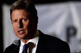 Gary Johnson.  Former New Mexico governor little known nationally but sets himself apart from the Republican field with his support for abortion rights and the legalization of marijuana. (Richard Shiro/AP)
