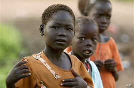 A group of street children in Juba, Sudan (file photo)