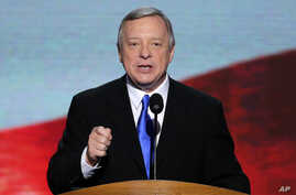Democratic Senator Richard Durbin (file photo)