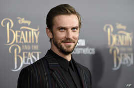 """Actor Dan Stevens attends a special screening of Disney's """"Beauty and the Beast"""" at Alice Tully Hall, March 13, 2017, in New York."""