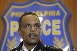 FILE - Philadelphia Police Commissioner Richard Ross speaks with members of the media during a news conference Jan. 8, 2016, in Philadelphia, Pennsylvania.