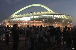 A 2010 World Cup stadium in South Africa