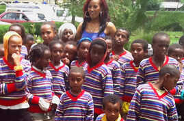 Meron Wudneh worked with boys in Addis Ababa at the Mary Joy Foundation (Courtesy Mary Joy Foundation)