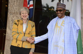 Theresa May da Muhammadu Buhari