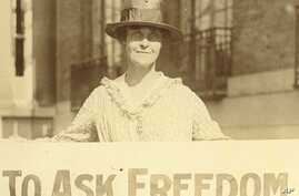 The 19th Amendment went to Congress in 1918 and was ratified by the states on August 18, 1920, earning American women the right to vote