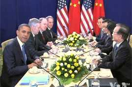 Obama Meets Chinese, Japanese Leaders at ASEAN Summit